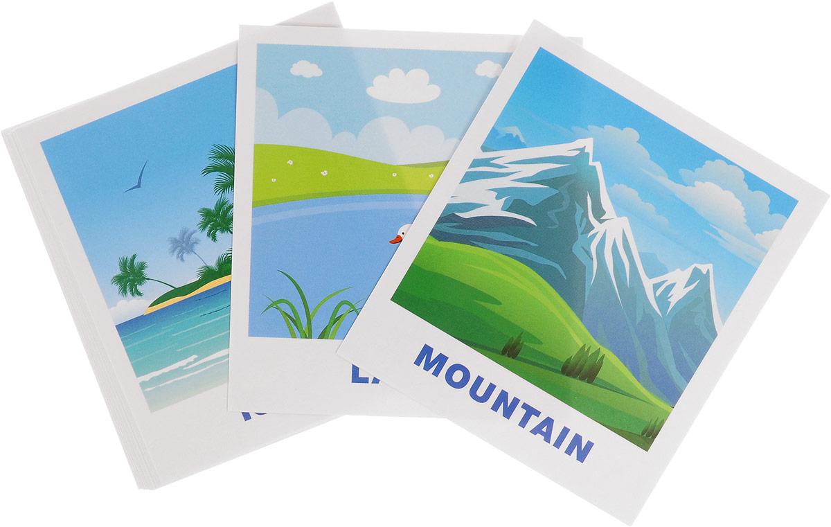 Айрис-пресс IQ-малыш Обучающие карточки English Природа набор для игры карточная айрис пресс iq карточки развиваем мышление 25624