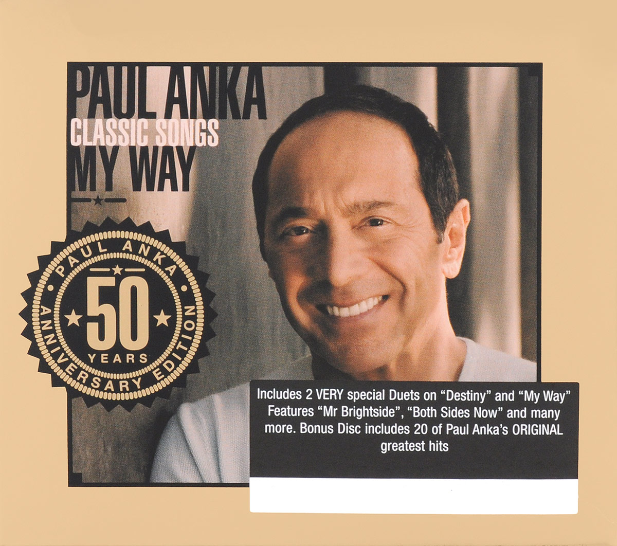 Пол Анка,Майкл Бубле,Джон Бон Джови,Сэмми Дэвис младший Paul Anka. Classic Songs. My Way. 50th Anniversary Edition (2 CD) cd scorpions taken by force 50th anniversary deluxe edition