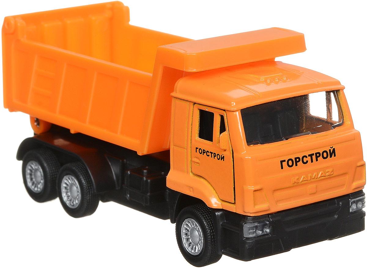 ТехноПарк Самосвал КамАЗ цвет оранжевый технопарк самосвал горстрой 20 см u1402e 4