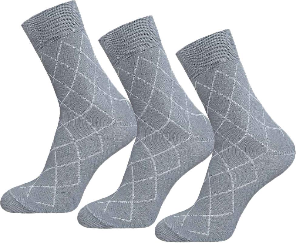 Носки мужские Брестские Basic, цвет: светло-серый, 3 пары. 15С2224-017. Размер 29 галоши женские speci all цвет черный 311 у размер 39 40