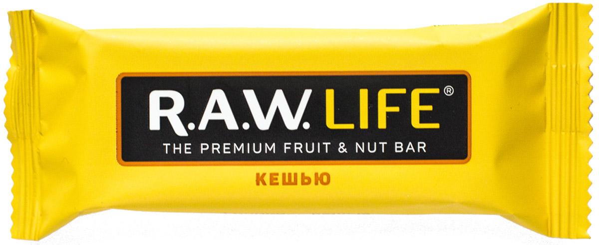 RAWLife Кешью батончик орехово-фруктовый, 47 г