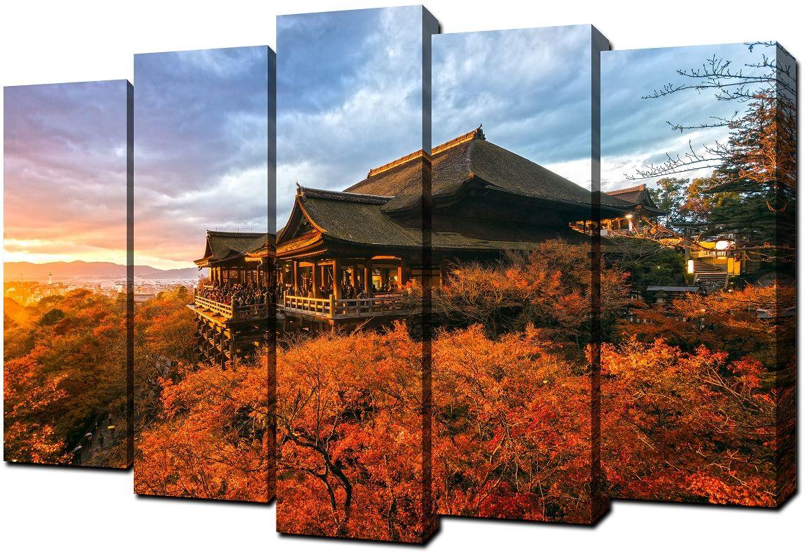 Картина модульная Milarte, 80 х 125 см. V-180V-180Модульная картина Milarte - это прекрасное решение для декора помещения. Картина состоит из пяти модулей. Холст натянут на подрамник галерейной натяжкой и закреплен с обратной стороны. Цифровая печать. Изделие устойчиво к выцветанию. Толщина подрамника 2 см, он исключает провисание полотна. Рекомендованное расстояние между сегментами составляет 1,5-2 см.Размер изображения: 80 х 125 см. Размер модулей: 63 х 25 см, 71 х 25 см, 80 х 25 см, 71 х 25 см, 63 х 25 см.Крепление в комплекте. Уход: можно протирать сухой мягкой тканью.