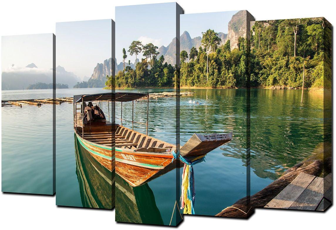Картина модульная Milarte, 80 х 125 см. V-307 модульная картина топпостерс зеленый бамбук 100х75 см 2 части