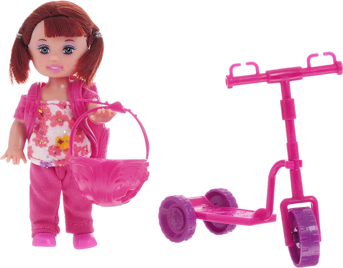 Little You Игровой набор с куклой Лиза на самокате