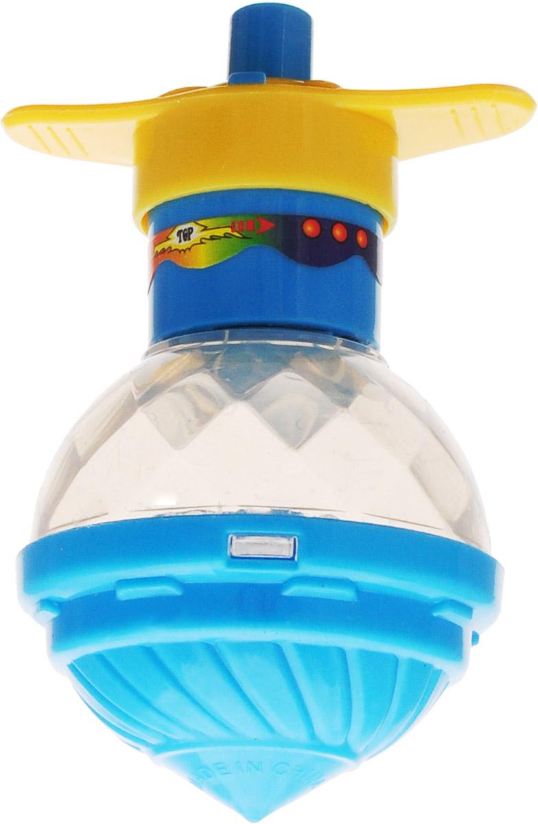 Veld-Co Вертушка Юла с запуском цвет голубой