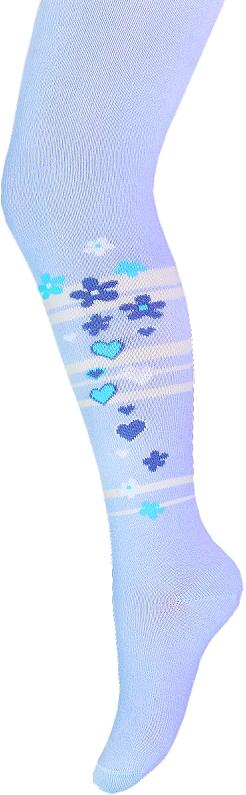 Колготки для девочки Брестские School, цвет: голубой. 14С3280_053. Размер 104/110 колготки для девочки брестские school цвет темно синий 14с3280 062 размер 140 146 10 11 лет