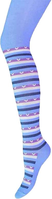 Колготки для девочки Брестские School, цвет: голубой. 14С3280_058. Размер 128/134 колготки для девочки брестские school цвет темно синий 14с3280 062 размер 140 146 10 11 лет