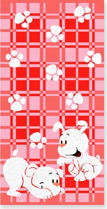 Полотенце махровое Bravo Щенки, цвет: розовый, белый, 60 х 120 см71272Полотенце Щенки выполнено из натуральной махровой ткани (100% хлопок). Изделие отлично впитывает влагу, быстро сохнет, сохраняет яркость цвета и не теряет форму даже после многократных стирок. Полотенце очень практично и неприхотливо в уходе. Оно создаст прекрасное настроение и украсит интерьер в ванной комнате.