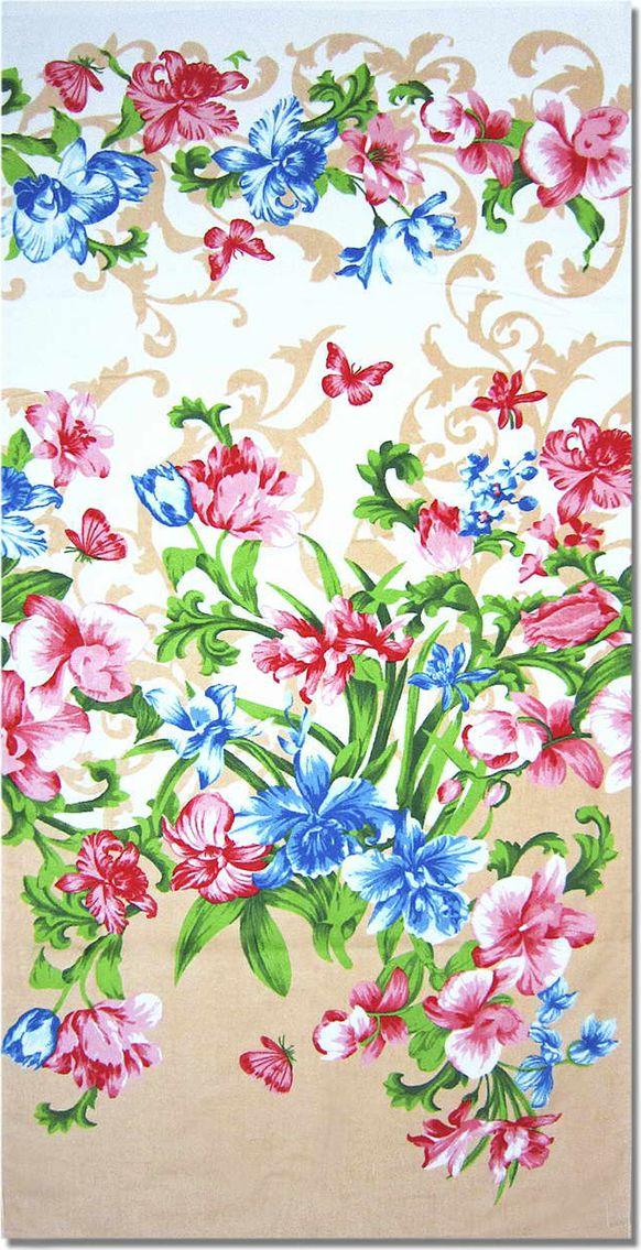 Полотенце махровое НВ Елена, цвет: персиковый, 33 х 70 см. м1030_1271354Полотенце НВ  Елена выполнено из натуральной махровой ткани (100% хлопок) и дополнено цветочным принтом. Изделие отлично впитывает влагу, быстро сохнет, сохраняет яркость цвета и не теряет форму даже после многократных стирок. Полотенце очень практично и неприхотливо в уходе. Оно станет достойным выбором для вас и приятным подарком вашим близким.