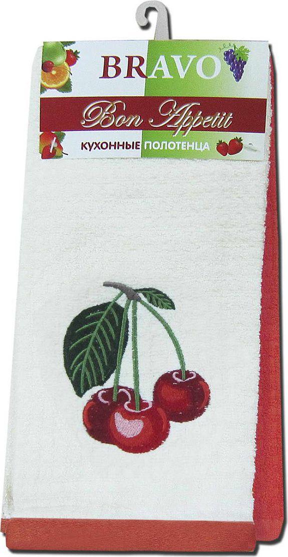 Полотенце из приятного мягкого, отлично впитывающего влагу материала. Идеально подойдет для использования на кухне.