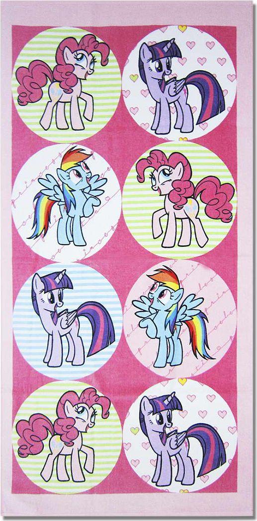 Bravo Полотенце детское Пони 33 x 70 см 108984486Мягкое хлопковое полотенце Bravo Пони подарит вам и вашей дочурке мягкость и необыкновенный комфорт в использовании. Полотенце украшено изображением обаятельных пони из мультфильма My Little Pony. Красочное изображение любимого героя и невероятная мягкость полотенца обязательно приведут в восторг вашего ребенка и превратят любое купание в веселую и увлекательную игру. Ткань не вызывает аллергических реакций, обладает высокой гигроскопичностью и воздухопроницаемостью. Полотенце великолепно впитывает влагу и не теряет своих свойств после многократной стирки. Порадуйте себя и своего ребенка таким замечательным подарком! Режим стирки: при 40°С.
