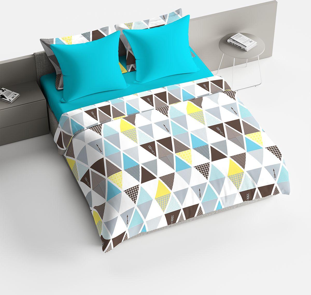 Комплект белья Браво Леонард, 1,5-спальное, наволочки 70x70, цвет: голубой91931Комплекты постельного белья из ткани LUX COTTON (высококачественный поплин), сотканной из длинноволокнистого египетского хлопка, созданы специально для людей с оригинальным вкусом, предпочитающим современные решения в интерьере. Обновленная стильная упаковка делает этот комплект отличным подарком. • Равноплотная ткань из 100% хлопка; • Обработана по технологии мерсеризации и санфоризации; • Мягкая и нежная на ощупь; • Устойчива к трению; • Обладает высокими показателями гигроскопичности (впитывает влагу); • Выдерживает частые стирки, сохраняя первоначальные цвет, форму и размеры; • Безопасные красители ведущего немецкого производителя BEZEMA