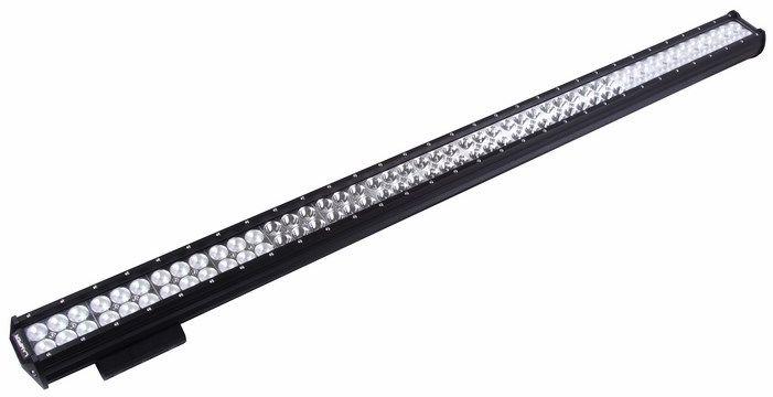Балка Lamper, светодиодная, 288 W80-1175Напряжение: 12-30 ВольтМощность одного светодиода: 3WМодель светодиода: CREEКол-во светодиодов: 84 шт. Световой поток: 25200 ЛюменТемпература свечения: 5500 КельвиновРабочий ток при 12/24V: 21/10,5AСветовой поток: комбинированныйРекомендованное подключение: водонепроницаемый разъём 2 pin Крепление: болт 10 ммВиброустойчивость: 10-2000HzЛинзы: ударопрорчный поликарбонат. Корпус: алюминиевый сплав. Размеры: 980 x 73 x 107. Пыле-влагозащищенность: IP-67 (6-полная защита от пыли,8K-полная защита от воды, выдерживает высокое давление воды во время мойки) Рабочая температура: от -40С до +105С.Срок службы: 50 000 часов.