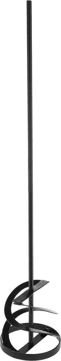 Насадка-миксер строительная Vorel Турбо, цвет: черный, диаметр 10 см09056Съемная насадка-миксер Vorel Турбо выполнена из прочного металла и предназначена для строительных миксеров. Изделие предназначено для оперативного замешивания красок, растворов, клея, шпаклевки или штукатурки. Также смешивает жидкие и вязкие, легкие и тяжелые строительные смеси. Длина насадки-миксера: 60 см. Диаметр насадки-миксера: 10 см.
