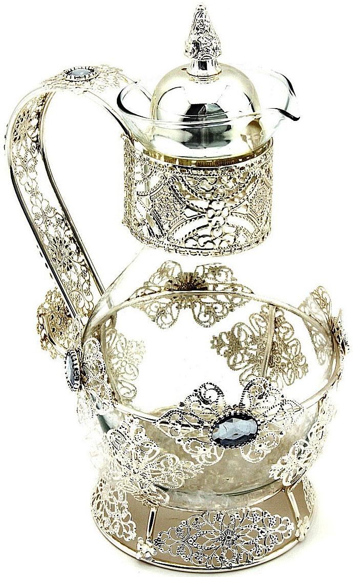 Чайник заварочный Marquis, 1,5 л. 8009-MR8009-MRЧайник заварочный Marquis изготовлен из нержавеющей стали и стекла. Изделие прекрасно подходит для заваривания вкусного и ароматного чая, травяных настоев. Оригинальный дизайн сделает чайник настоящим украшением стола. Он удобен в использовании и понравится каждому.