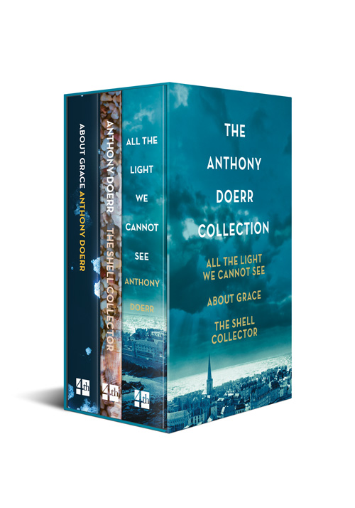 All the Light We Cannot See, About Grace and The Shell Collector [Box set edition] antony morato an511empoe29 antony morato