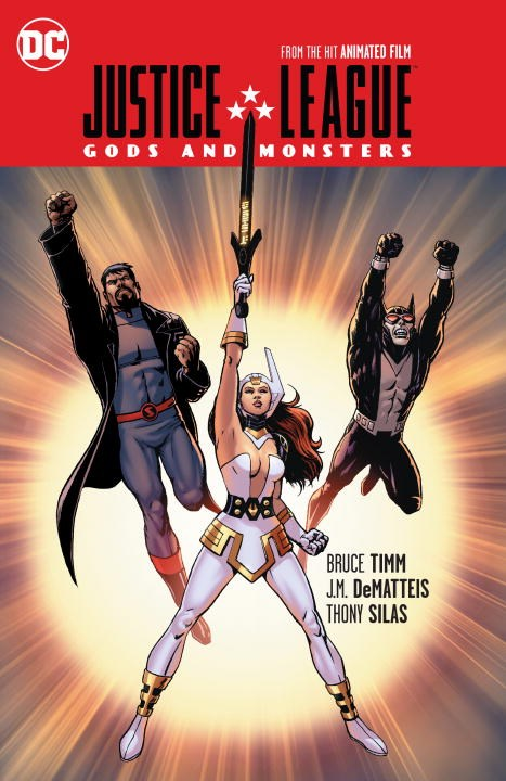 Justice League: Gods and Monsters of monsters and men of monsters and men beneath the skin