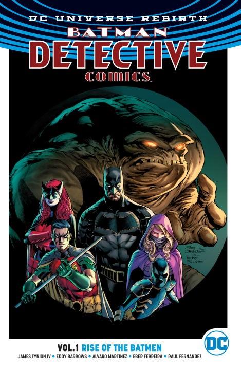 Batman: Detective Comics Volume 1: Rise of the Batmen (Rebirth) batman detective comics volume 9 gordon at war