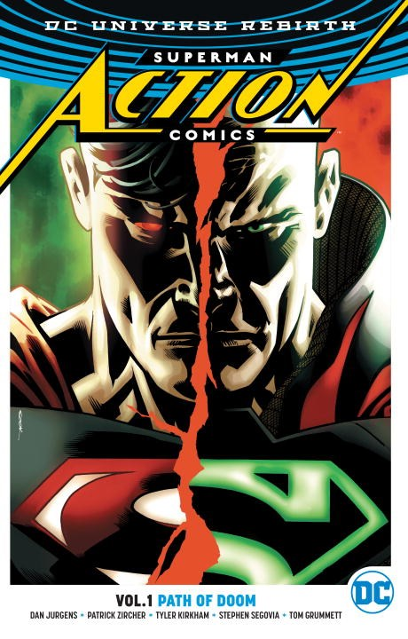Superman: Action Comics: Volume 1: Path of Doom greg pak batman superman volume 1 cross world