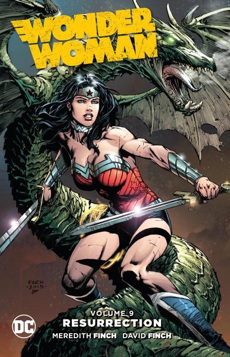 Wonder Woman: Volume 9: Resurrection bride of the water god volume 15