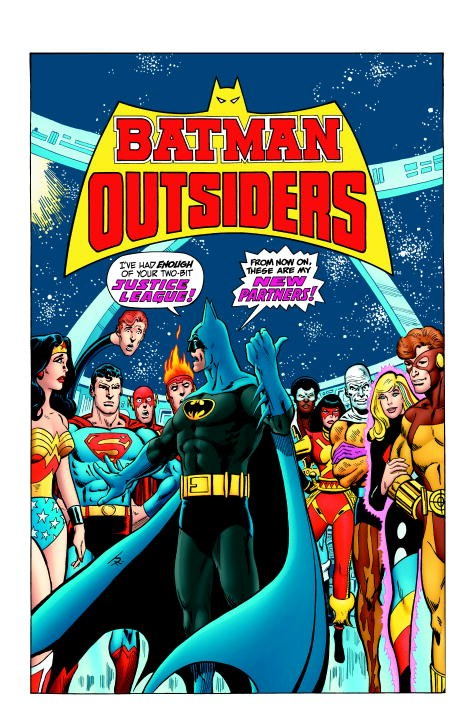 Batman & the Outsiders Vol. 1 driven to distraction