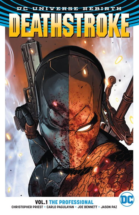 Deathstroke: Volume 1: The Professional frog on his own