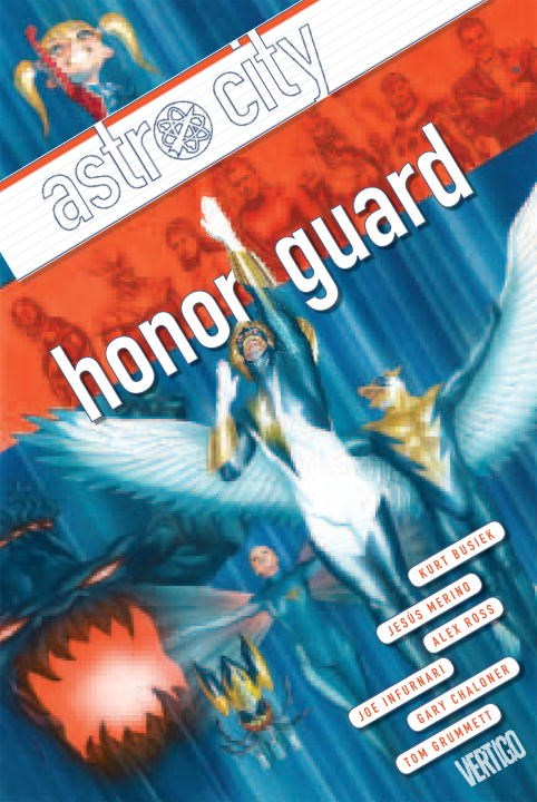 Astro City Vol. 13 Honor Guard the march against fear