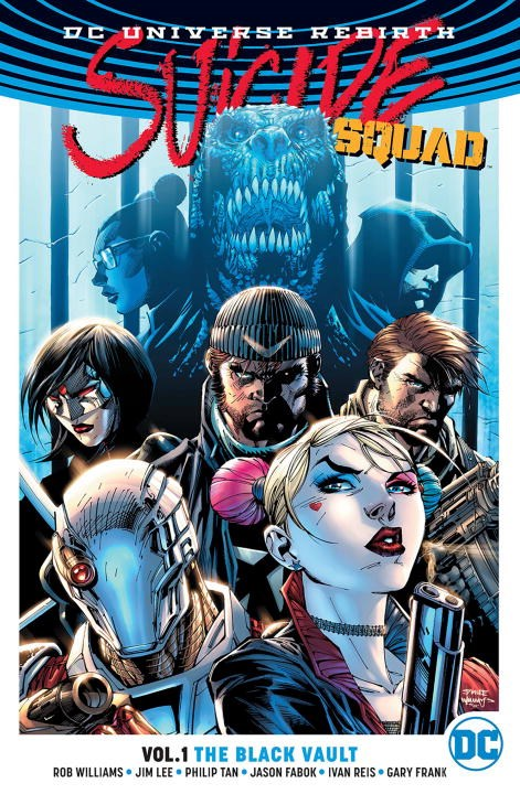 Suicide Squad Vol. 1: The Black Vault (Rebirth) keith giffen threshold vol 1 the hunted the new 52