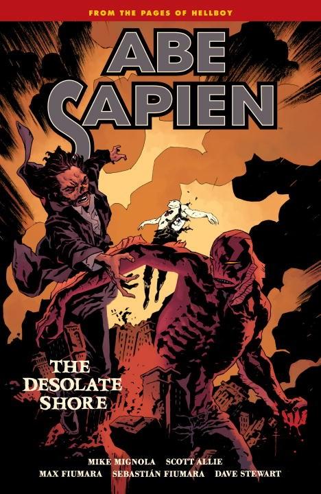 Abe Sapien Volume 8: The Desolate Shore abe sapien volume 2 the devil does not jest