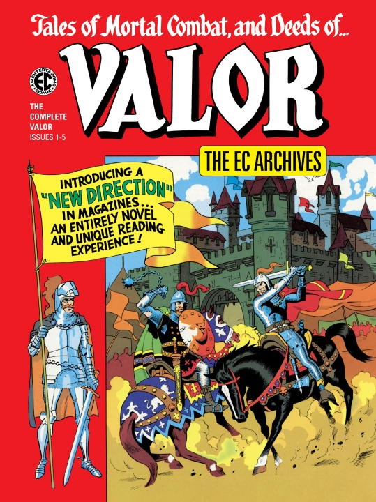 The EC Archives: Valor the ec archives two fisted tales volume 3