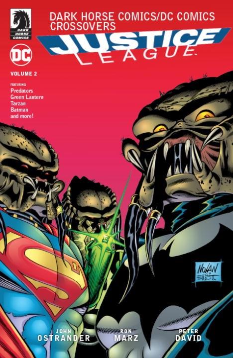 Dark Horse Comics / DC Comics: Justice League Volume 2 batman the silver age newspaper comics volume 3 1969 1972