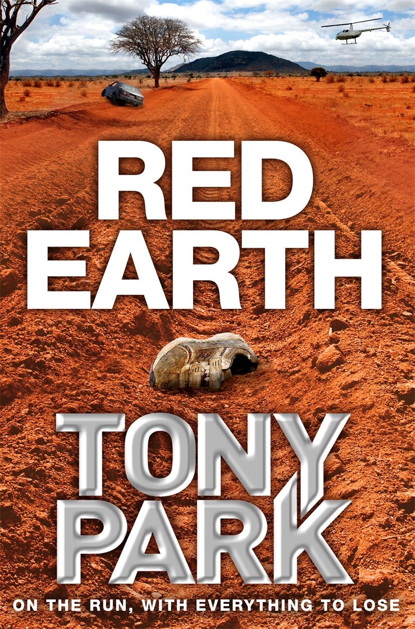 Red Earth from the earth to the moon