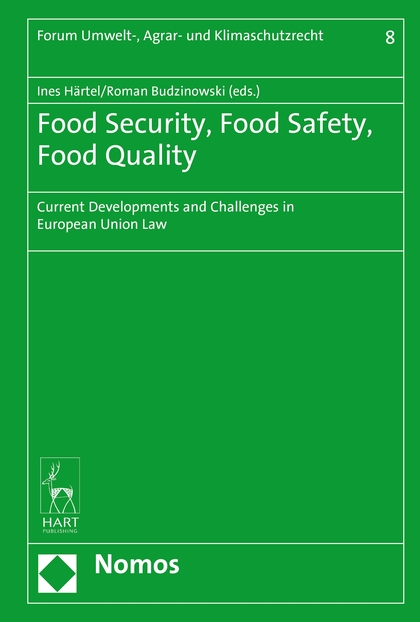 Food Security, Food Safety, Food Quality: Current Developments and Challenges in European Union Law development of the third european union maritime safety package