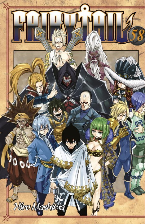 Fairy Tail 58 fairy tail twin dragons of saber tooth