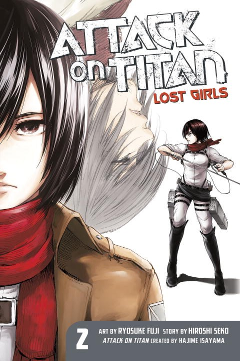 Attack on Titan: Lost Girls The Manga 2 the sirens of titan