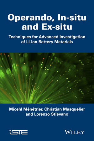 Operando, In-situ and Ex-situ: Techniques for Advanced Investigation of Li-ion Battery Materials swapna nair and m r anantharaman investigation on the nanomagnetic materials and ferrofluids
