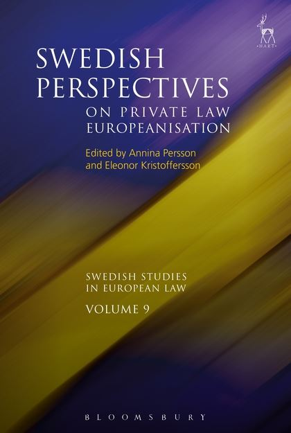 Swedish Perspectives on Private Law Europeanisation the law of the european central bank