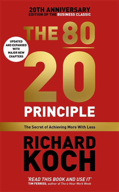 The 80/20 Principle how might we test the effectiveness of design management methodology