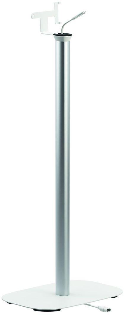 Vogels Sound 4303, White стойка для колонокSOUND 4303WVogels Vogels напольная стойка SOUND 4303 белого цвета для акустической системы Sonos PLAY:3 Получите максимальную отдачу от вашей акустической системы Sonos PLAY:3 Ваша акустическая система Sonos PLAY:3 гармонично впишется в любой интерьер благодаря установке на напольной стойке Vogel's SOUND 4303. Высота этой напольной стойки (82 см) позволяет расположить колонки на уровне ушей сидящего слушателя, что обеспечивает их наиболее качественное звучание. Вы сможете установить динамики как в горизонтальном, так и в вертикальном положении для создания оптимального звучания вашей акустической системы Sonos в любой точке комнаты. Эта напольная стойка Vogel's для акустической системы обеспечивает надежную опору для вашей акустической системы Sonos PLAY:3 и поставляется в черном или белом исполнении, чтобы гармонично сочетаться с цветом динамиков. Установка динамика очень проста, благодаря предварительно собранному посадочному месту для динамика и встроенному удлинительному шнуру питания. Благодаря напольной стойке Vogel's вы запросто найдете в комнате наиболее оптимальное положение для наилучшего звучания вашей акустической системы Sonos PLAY:3. Вам необходимо установить динамики высоко и в труднодоступном месте? Мы советуем обратить внимание на настенный кронштейн Vogel's для акустической системы Sonos PLAY:3. Настенные крепления и напольные стойки Vogel's подойдут и для акустической системы Sonos PLAY:1.