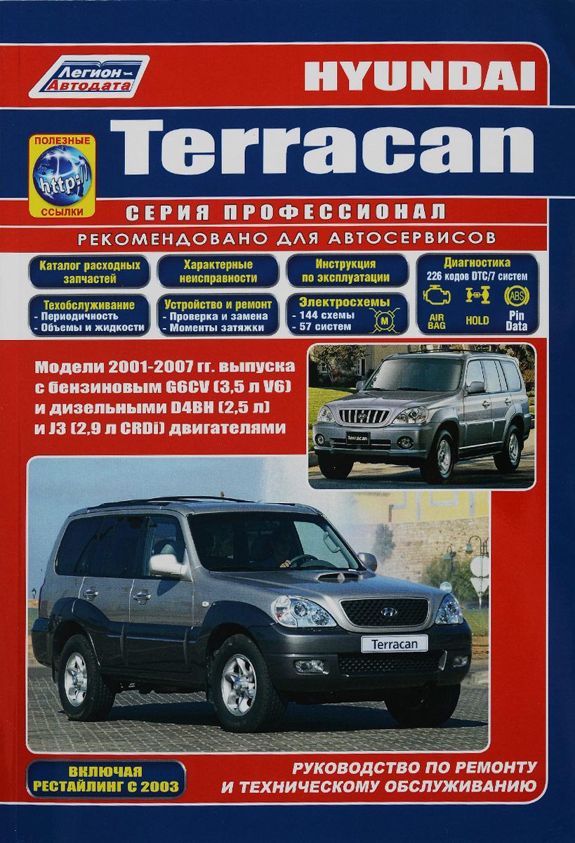 Hyundai Terracan. Устройство, техническое обслуживание и ремонт
