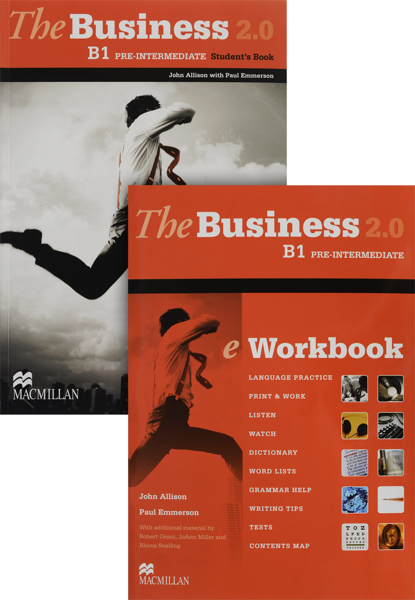 The Business 2.0 B1: Pre-Intermediate: Student's Book: eWorkbook (комплект из 2 книг + DVD-ROM) business fundamentals
