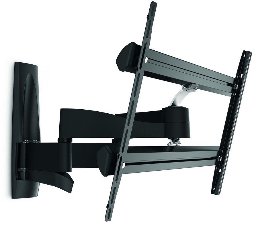 Vogels Wall 2350, Black кронштейн для ТВWALL2350Vogels Wall 2350 — поворотный кронштейн для телевизора. Для больших телевизоров с размером экрана до 65 дюймов (165 см)Кронштейн Wall 2350 подходит для телевизоров с размером экрана от 40 до 65 дюймов (от 101 до 165 см). Безопасный и надежный кронштейн для телевизоров, весящих до 45 кг. Подходит для тяжелых телевизоров. Телевизоры с большим экраном могут иметь очень большой вес. Прочные кронштейны Wall 2350 позволяют легко двигать даже самые тяжелые телевизоры. Если вам нужна качественная конструкция и совершенный дизайн, не обременительные для бюджета, самый лучший выбор — серия Vogel's Wall. Выполненные из стали большого сечения и прочного алюминия, эти кронштейны рассчитаны на многие годы интенсивного использования. Просто выгодное приобретение.