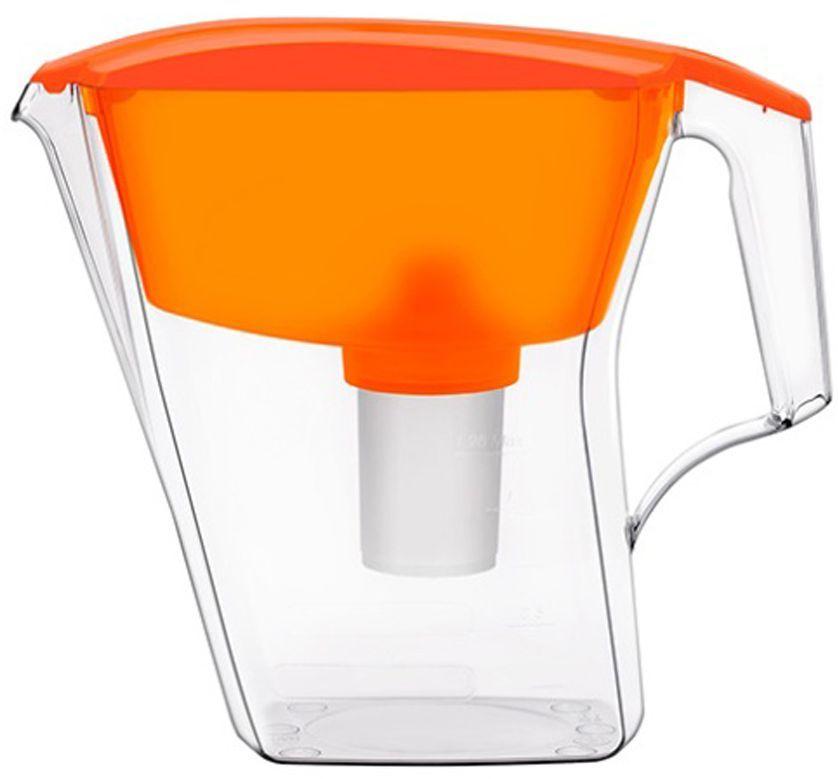 Фильтр-кувшин для воды Аквафор  Престиж , цвет: оранжевый, прозрачный, 2,8 л - Фильтры для воды