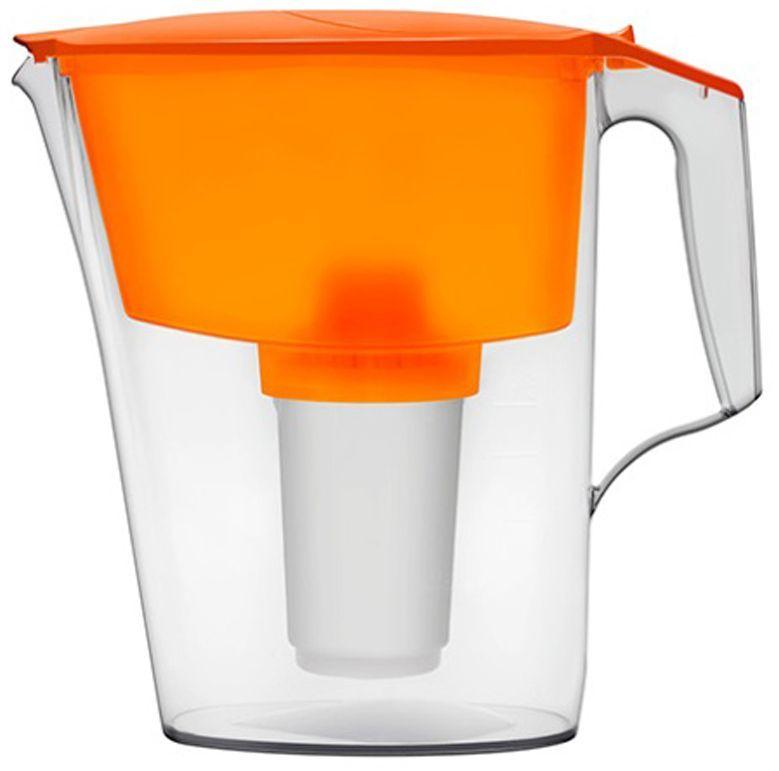Фильтр-кувшин для воды Аквафор Ультра, цвет: оранжевый, прозрачный, 2,5 л фильтр кувшин для воды аквафор стандарт цвет голубой прозрачный 2 5 л