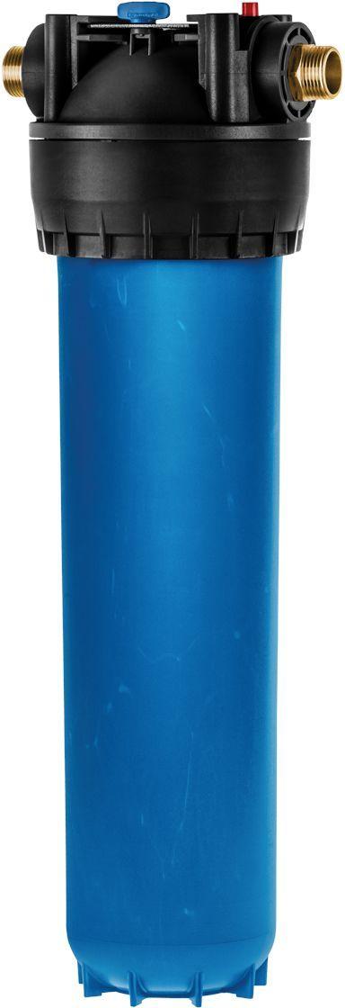 Корпус фильтра Аквафор Гросс 20 ВВ, для холодной водыКорпус ГроссКорпус фильтра Аквафор Гросс 20 ВВ предназначен для холодной воды. Он эффективно удаляет песок, ржавчину, взвесь и другие примеси. Корпус Аквафор Гросс 20 ВВ облегчает работу фильтра питьевой воды, защищает бытовую технику от поломок, делает прием ванны или душа более приятным. Корпус Аквафор Гросс 20 ВВ, выполненный из стеклопластика, выдерживает высокое давление. Изделие оснащено удобным поворачивающимся кронштейном. Замену фильтрующего модуля сильно упрощает быстроразъемное крепление. С корпусом Аквафор Гросс 20 ВВ могут использоваться сменные модули: - ЭФГ 112/508 10 мкм - сменный модуль для базовой очистки холодной воды;- B520-12 - сменный модуль для глубокой очистки холодной воды.