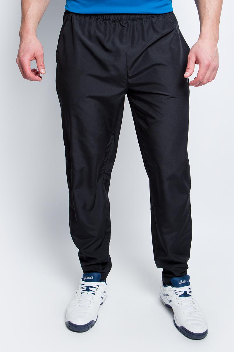 Брюки спортивные мужские Asics Woven Pant, цвет: черный. 134101-0904. Размер XXL (52) цена