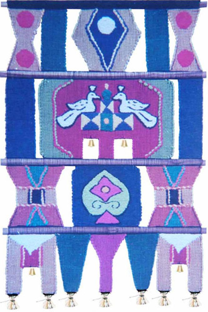 Коврик декоративный India Cotton, 45 х 80 см. 206206Коврик декоративный ручной работы. Произведен в деревнях Индии, с вековыми традициями в изготовлении хлопковых изделий. Служит идеальным украшением вашего интерьера, отличный подарок по любому случаю. Этнический оберег, колокольчиками отгоняющий зло ипривлекающий блага. Изделия ручной работы могут немного отличаться от товара, представленного на фото, например, цветовыми нюансами, отделкой. Внимание: коврик не подлежит стирке!