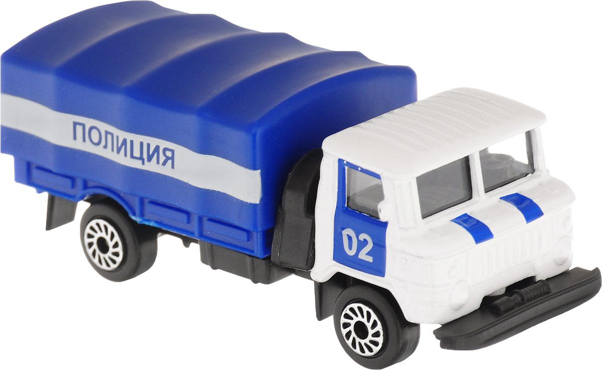 ТехноПарк Автомобиль ГАЗ 66 Полиция а м б у газ 66 дизельным двигателем