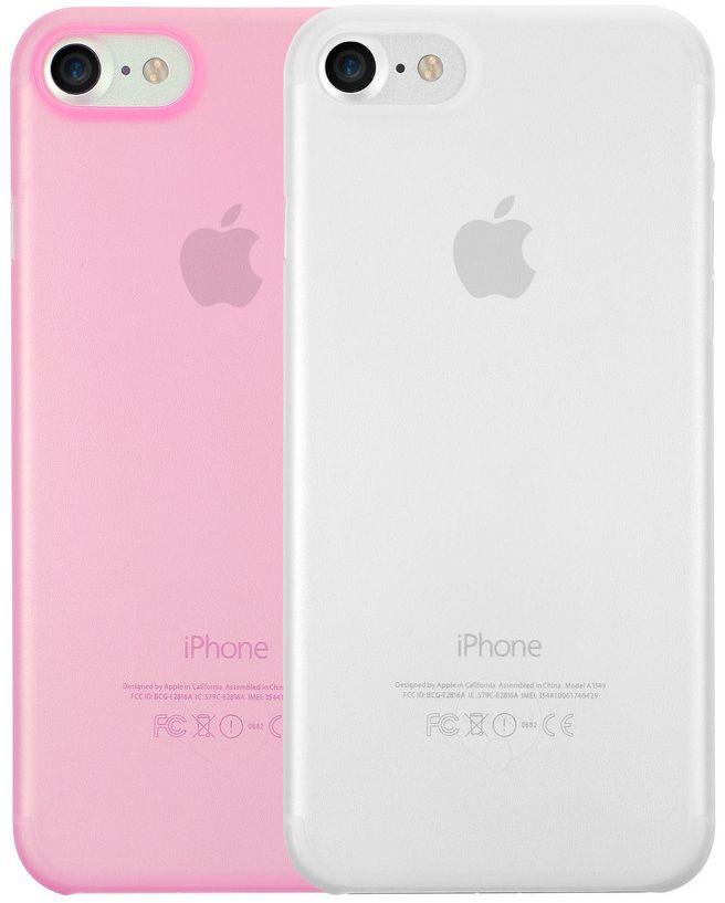 Ozaki O!coat 0.3 Jelly набор чехлов для iPhone 7/8, Clear PinkOC720CPOzaki O!coat 0.3 Jelly для iPhone 7/8 - это комплект, который состоит из двух стильных чехлов-накладок, разработанных популярной компанией Ozaki специально для телефонов Apple. Каждый чехол, толщиной 0.3 мм, изготовлен из качественных материалов и весит всего несколько грамм. Кроме этого он обеспечивает доступ ко всем интерфейсам и кнопкам.