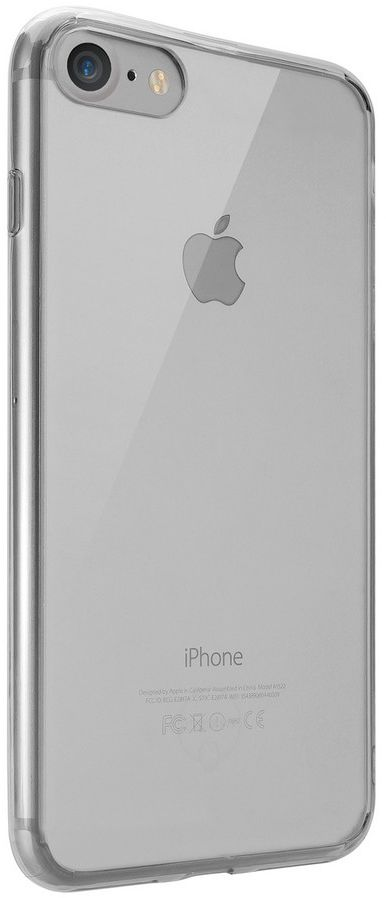 Ozaki O!coat Crystal+ Case чехол для iPhone 7/8, Transparent BlackOC739BK